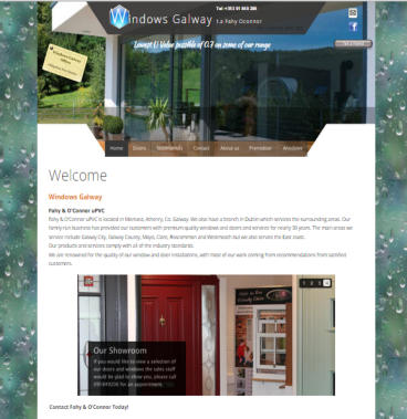 web site design for fahy oconnor
